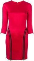 Versus contrast trim dress - women - Polyamide/Spandex/Elastane/Viscose - 38
