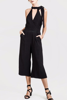J.o.a. Black Sleeveless Jumpsuit