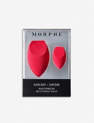 Morphe Highlight and Contour Beauty Sponge Duo