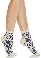 Happy Socks Combed Leopard Ankle Socks