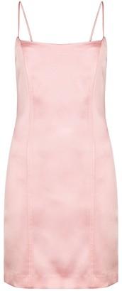 GAUGE81 Medellin Pink Satin Mini Dress