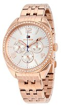 Tommy Hilfiger Women's Mia 1781572 Rose Gold Stainless-Steel Quartz Watch