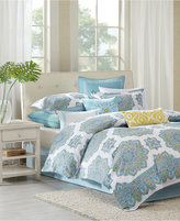 Echo Indira Aqua Twin Comforter Set
