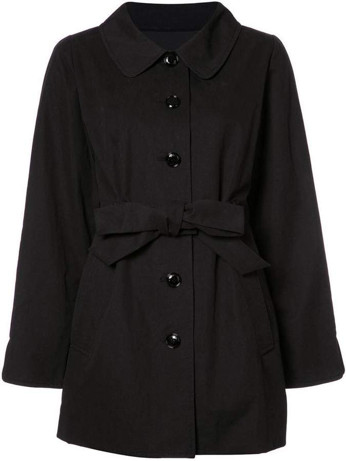 Moschino belted oversized jacket