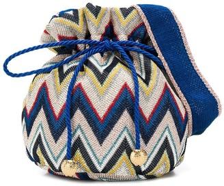 Missoni Kids Zigzag Pattern Shoulder Bag