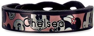 Disney Minnie Mouse Braid Leather Bracelet Personalizable