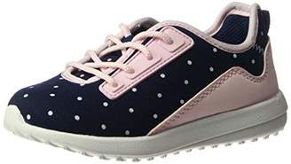 Carter's Girls' Paow Mesh Athletic Sneaker with Bungee Laces