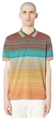 Missoni Sfumato Pique Polo (Multi 1) Men's Clothing