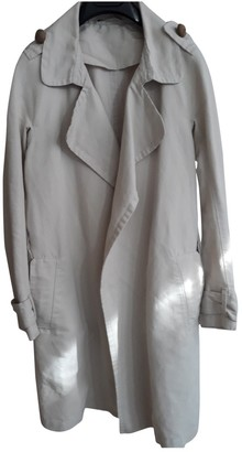 BEIGE Non Signé / Unsigned Non Signe / Unsigned Cotton Coat for Women
