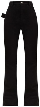 Bottega Veneta High-rise Flared Jeans - Womens - Black