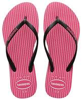Havaianas Slim Retro - Women ́s flip flop with a checked pattern color