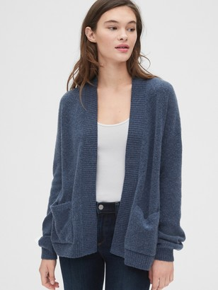 Gap Relaxed Open-Front Cardigan Sweater