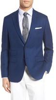BOSS Men's Jet Trim Fit Stretch Wool Travel Blazer