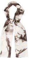 Kelly Wearstler Silk Tie-Dye Scarf