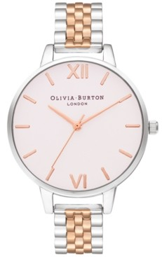 Olivia Burton Women's Two-Tone Stainless Steel Bracelet Watch 34mm