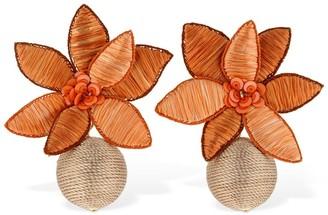 Lizzie Fortunato Tuscan Field Statement Earrings