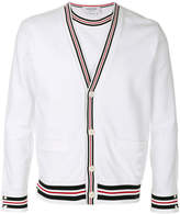 Thom Browne Reconstructed V neck cardigan