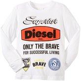Diesel T-shirt (Kid) - Bright White-4