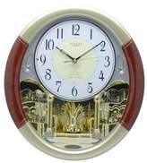 Brandi Oval Pendulum Wall Clock