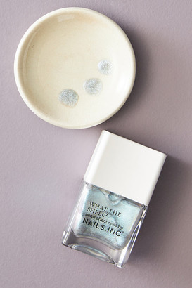 Nails Inc What The Shell Nail Polish By in Purple Size ALL