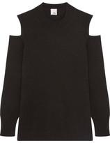 Iris and Ink Diana Cutout Cashmere Sweater