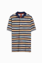 Missoni Wide Block Space Dye Polo Shirt