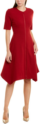 Lafayette 148 New York Demille A-Line Dress