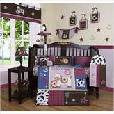 GEENNY Boutique Horse Western Cowgirl 13PCS CRIB BEDDING SET
