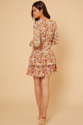 Little Mistress by Vogue Williams Tiered Ruffle Mini Dress