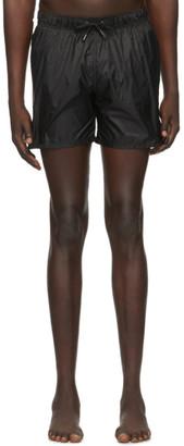 Ermenegildo Zegna Black Nylon Swim Shorts
