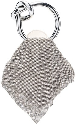 Benedetta Bruzziches Knot-Detail Top Handle Bag