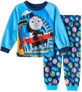 Toddler Boy Thomas the Tank Engine Raglan Pajama Top & Bottoms Set