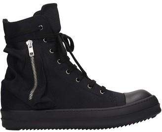 Drkshdw Bauhaus Sneaks Sneakers In Black Tech/synthetic