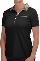 Barbour Mollard Polo Shirt - Slim Fit, Short Sleeve (For Women)