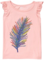 Crazy 8 Sparkle Feather Tee