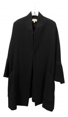 Hoss Intropia Black Wool Coats