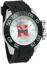 Game Time Men's 'Beast' Quartz Metal and Polyurethane Casual Watch, Color:Black (Model: COL-BEA-NEB)