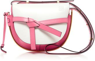Loewe Gate Small Two-Tone Leather Bag