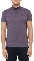 Ted Baker Geo Trim Regular Fit Polo Shirt