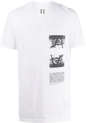 Rick Owens graphic print cotton T-shirt