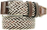 Tulliani Remo Braided Belt - Leather-Cotton (For Men)