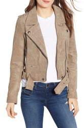 Blank NYC BLANKNYC Morning Suede Moto Jacket