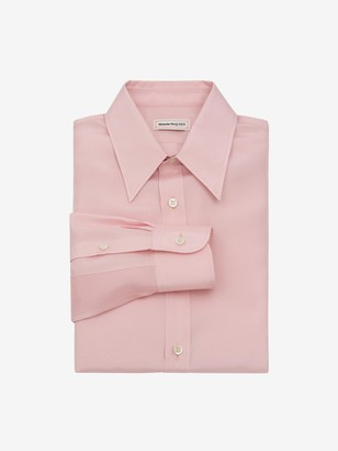 Alexander McQueen Silk Poplin Shirt