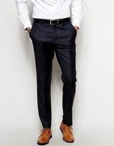 Asos Slim Suit Pants In 100% Wool