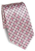 Ermenegildo Zegna Small Circle Silk Tie