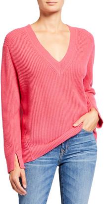 Rag & Bone Pierce V-Neck Cashmere Sweater