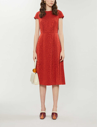 Ted Baker Bellana crepe midi dress