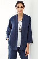 J. Jill Pure Jill Linen Studio Jacket