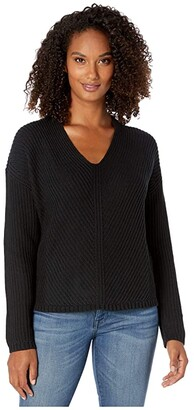 UGG Criss Sweater (Black) Women's Clothing