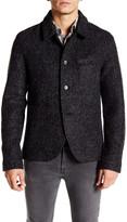Original Penguin Boiled Wool Baker Jacket